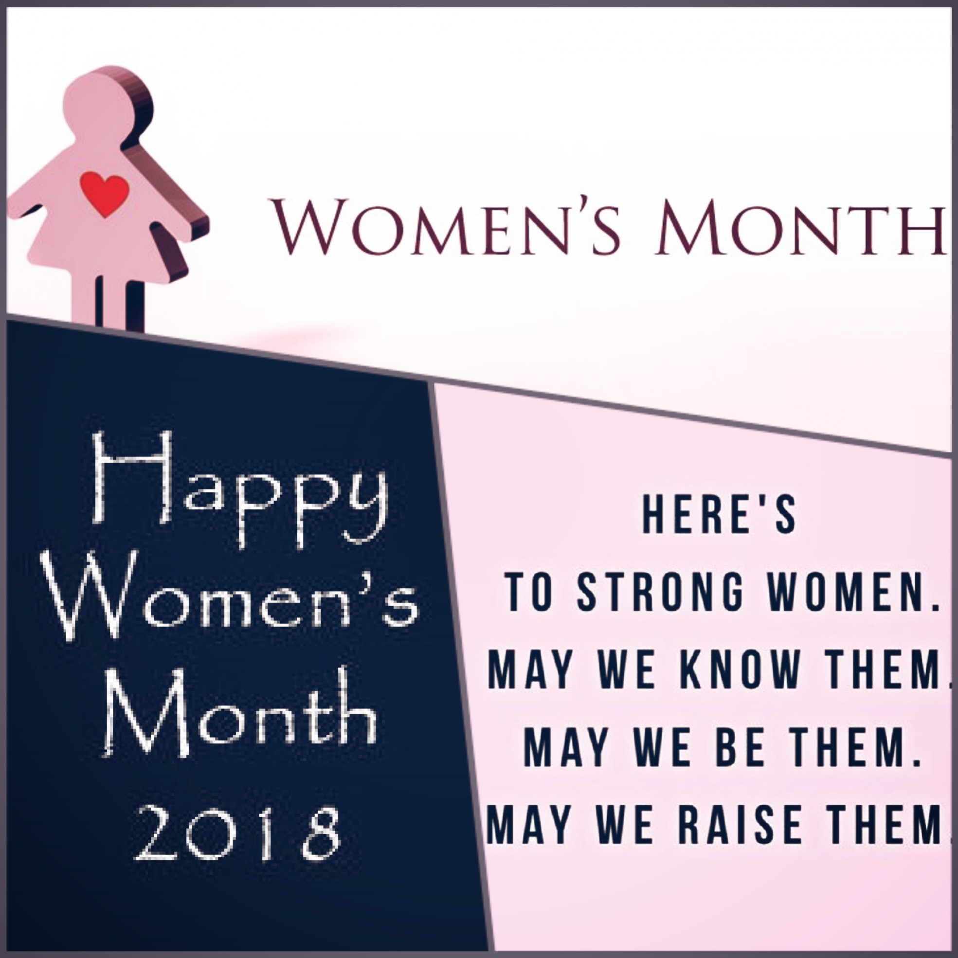 womans month 2018